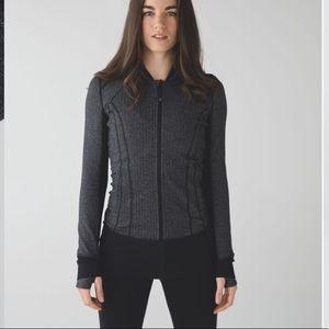 Lulú lemon daily practice jacket hoodie sz 10